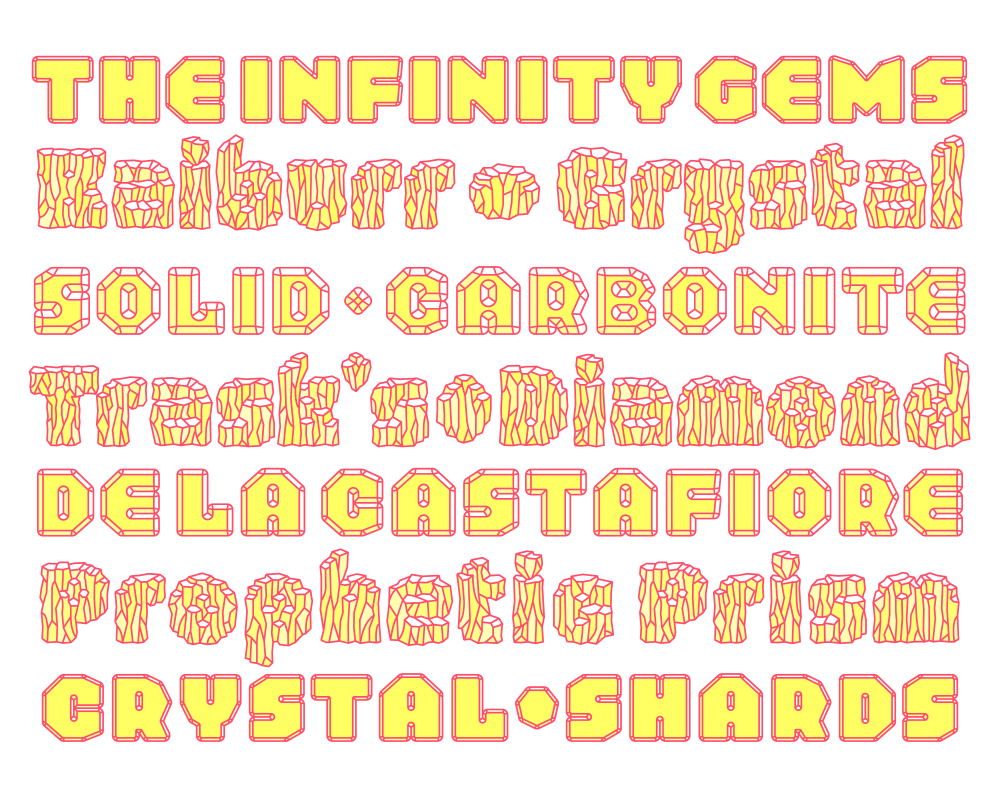 Schijn A Multifaceted Gemstone Typeface By Typearture