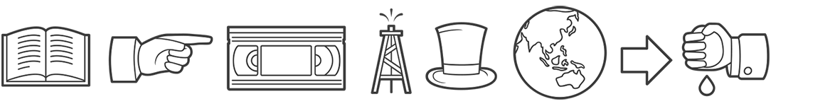 image of Disclosure Dingbat illustration font