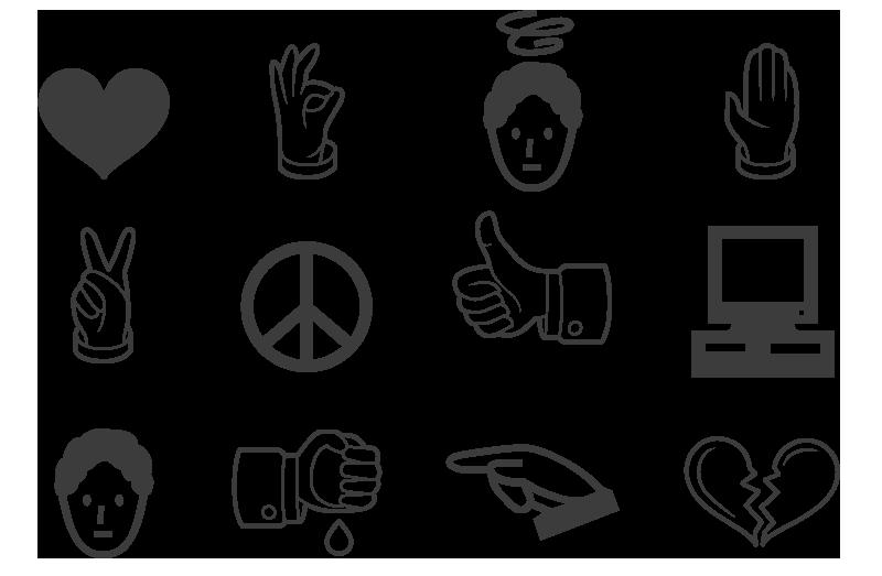Image of Disclosure Dingbat font
