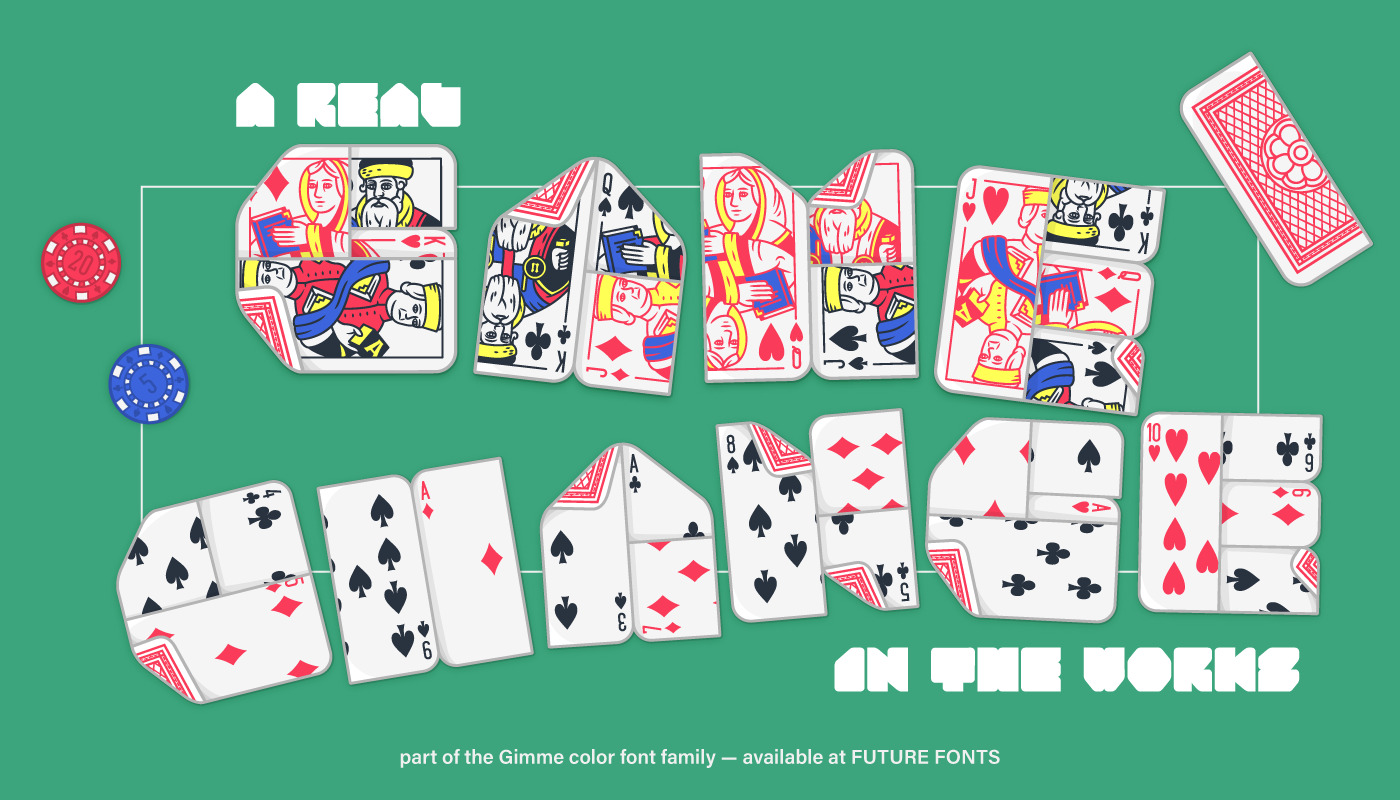 Lowball face cards and number cards